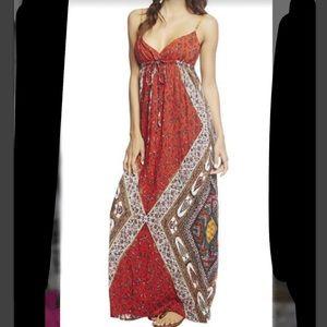 Wet seal boho style maxi dress S BNWT